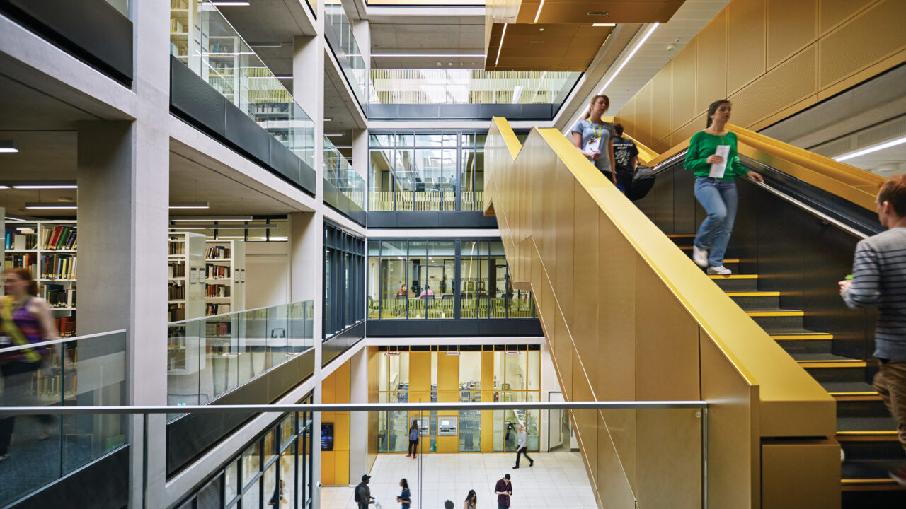 Main Library, University of Birmingham
